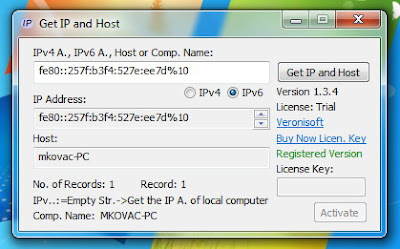Veronisoft Get IP and Host 1.3.17