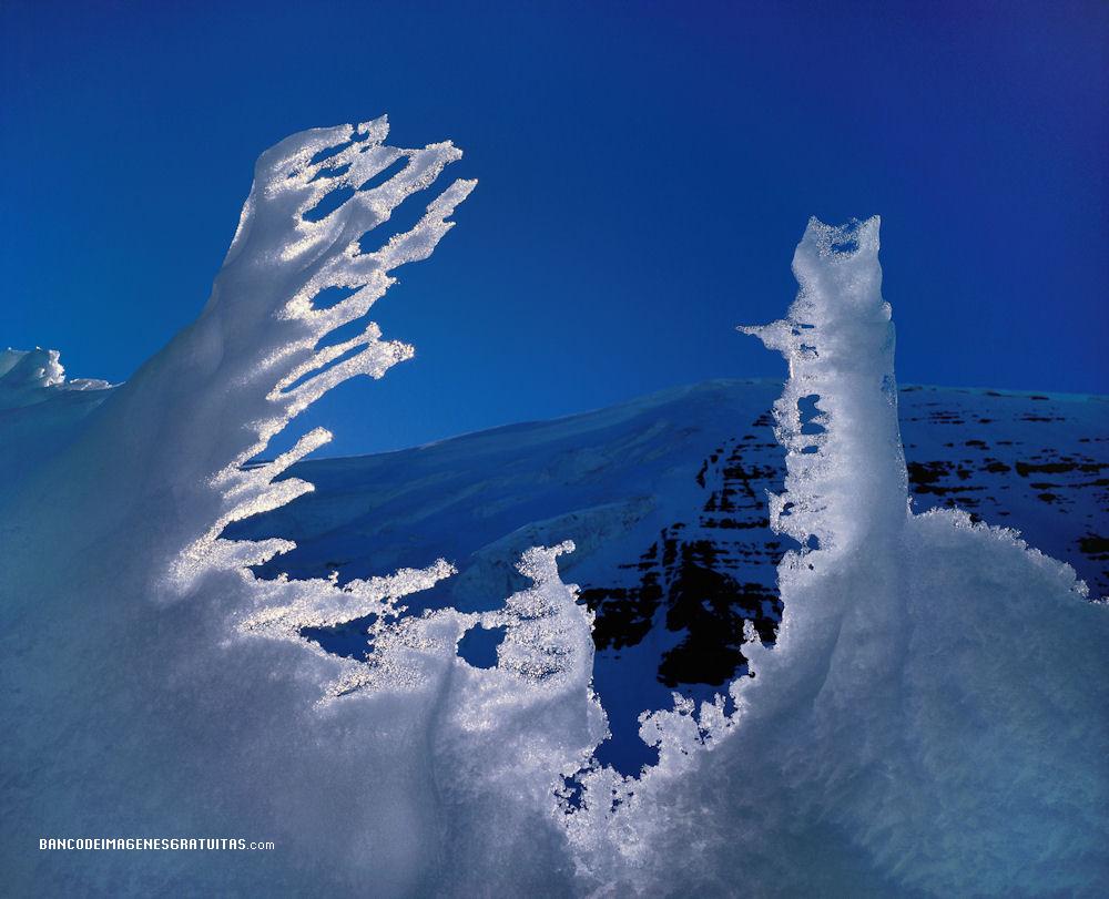 Banco de im genes paisajes nevados o snowscapes nieve en - Paisajes nevados para pintar ...