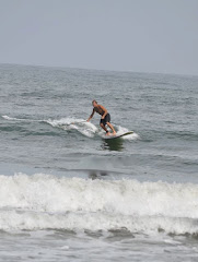 Ozzy Paddle Surfing