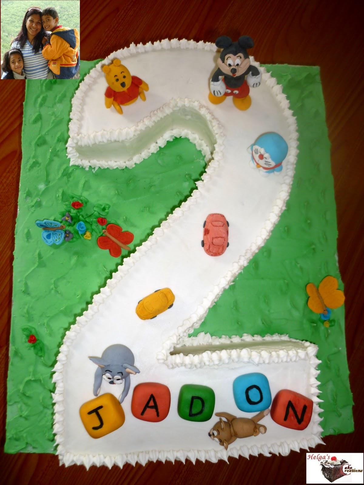 Helga s Cake Creations: Cartoon Character Cakes