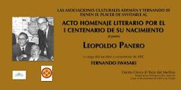 Homenaje a  Leopoldo Panero