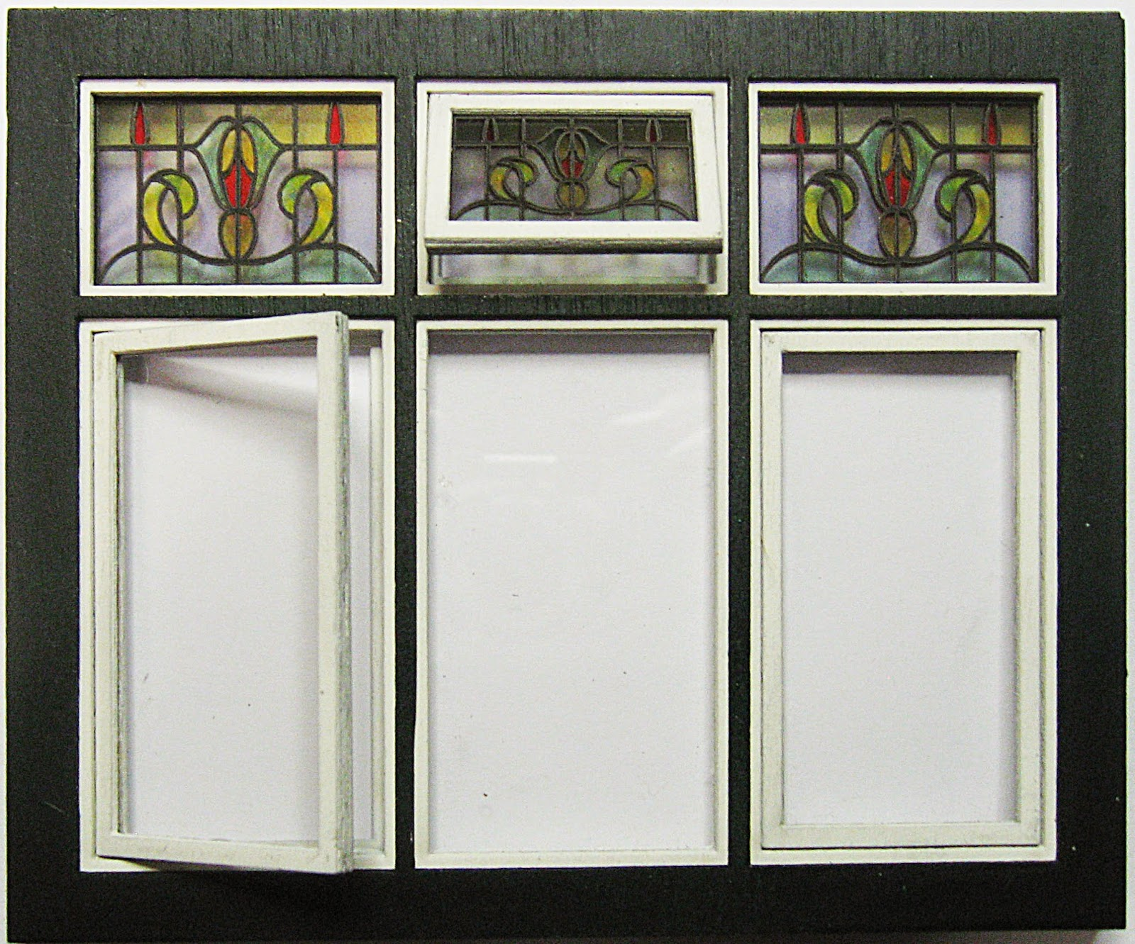 Kt miniatures journal are you in need of art nouveau or for 1920s window styles