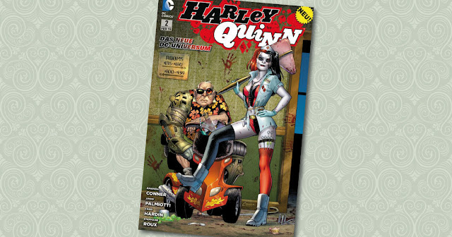 Harley Quinn 2 Panini Cover