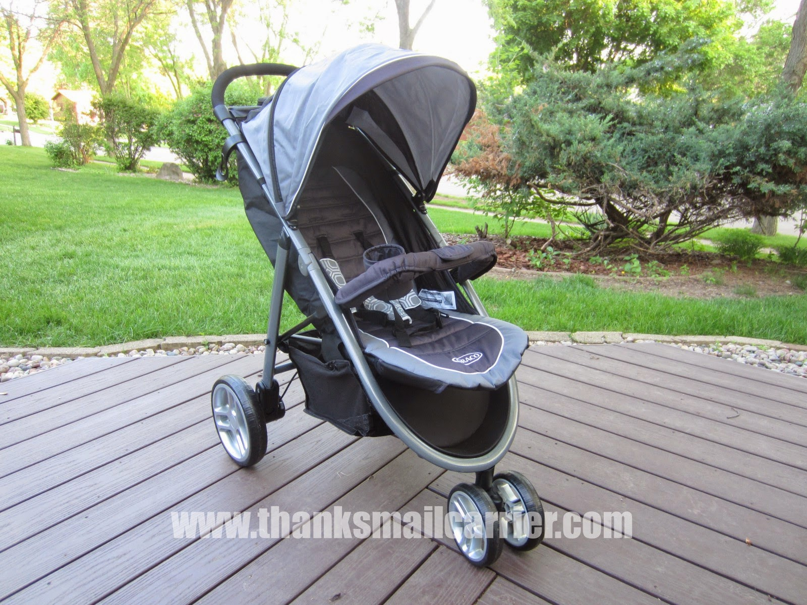 Graco Aire3 stroller review