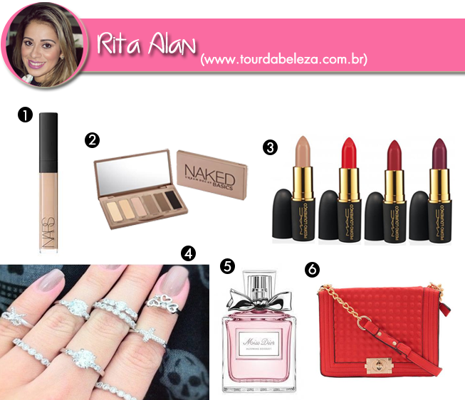 wishlist rita blog tour da beleza