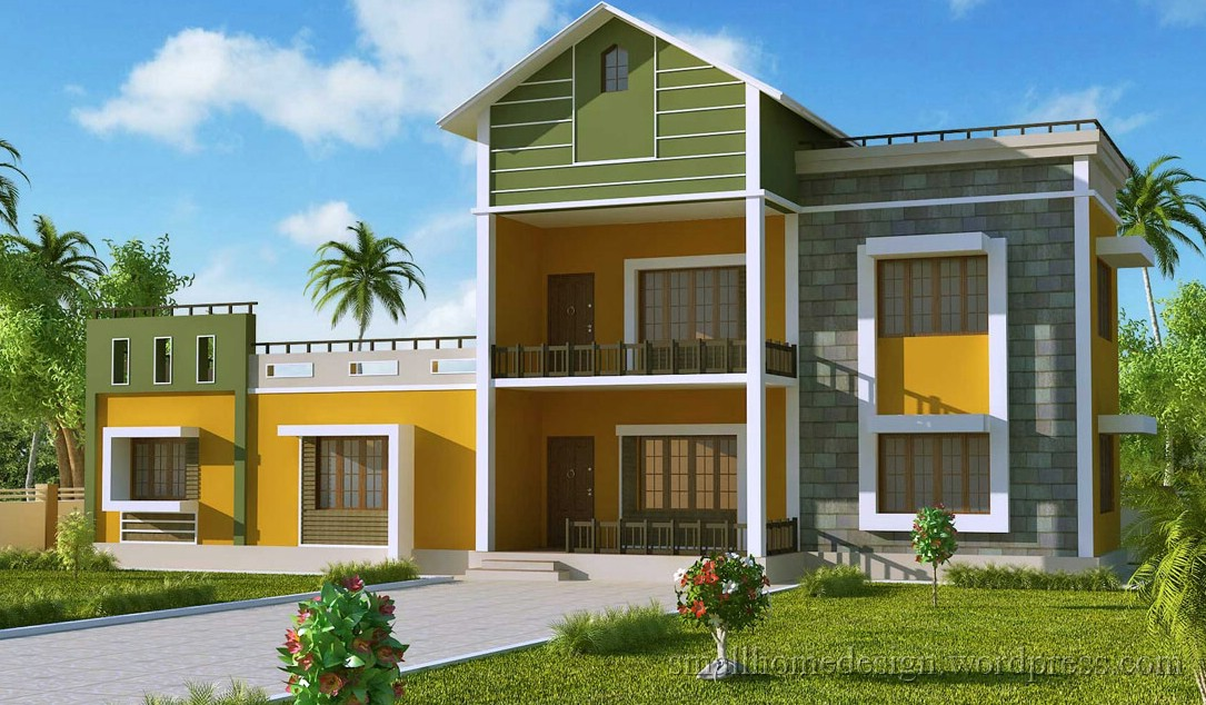 Small home design ideas exterior design for Small home exterior ideas