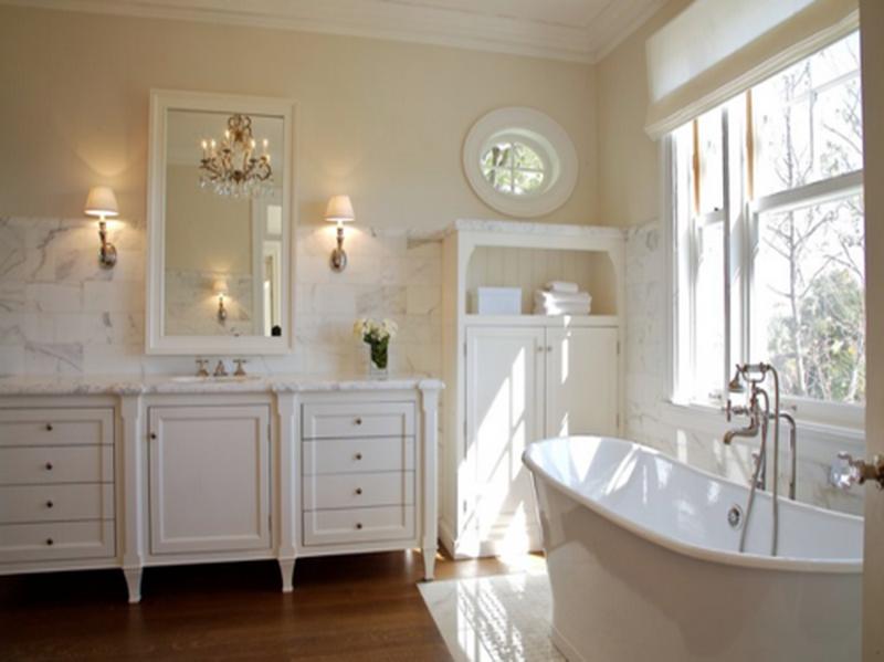 Formosa casa banheiros aconchegantes - Bagno shabby chic moderno ...