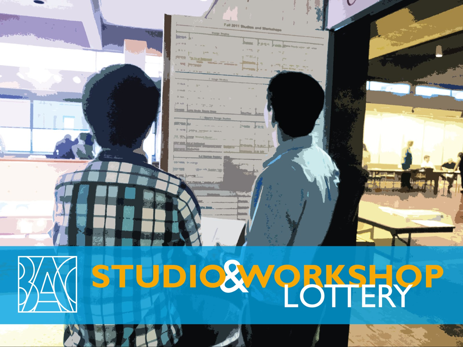 Fall 2014 studio workshop lottery results