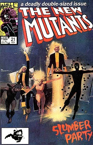 New Mutants #21 pic