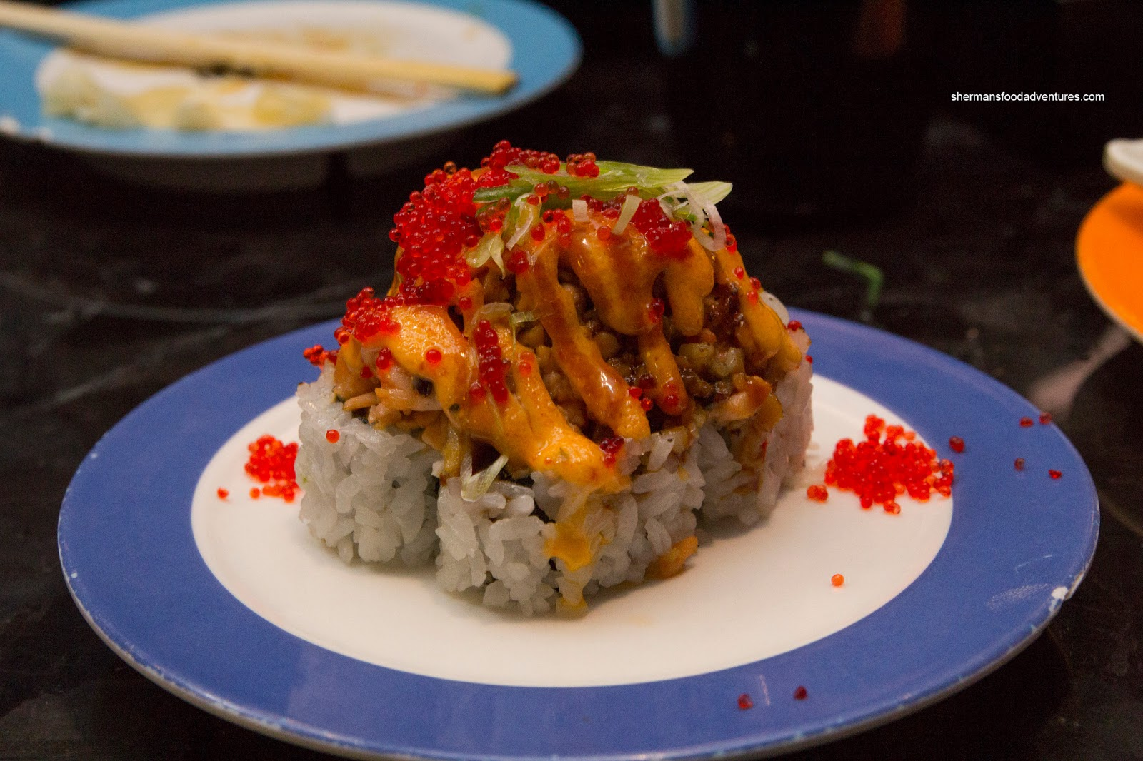 sushi rice volcano roll sushi sake japanese restaurant volcano roll at ...