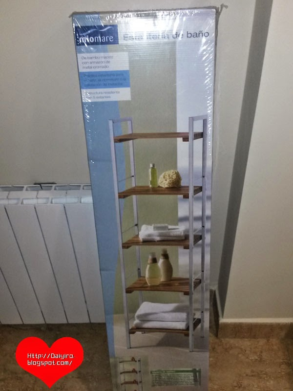 Montar estanter a de ba o del lidl blog de daiyiro - Estanteria telescopica bano lidl ...
