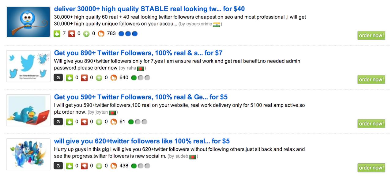 Dove comprare follower per Twitter