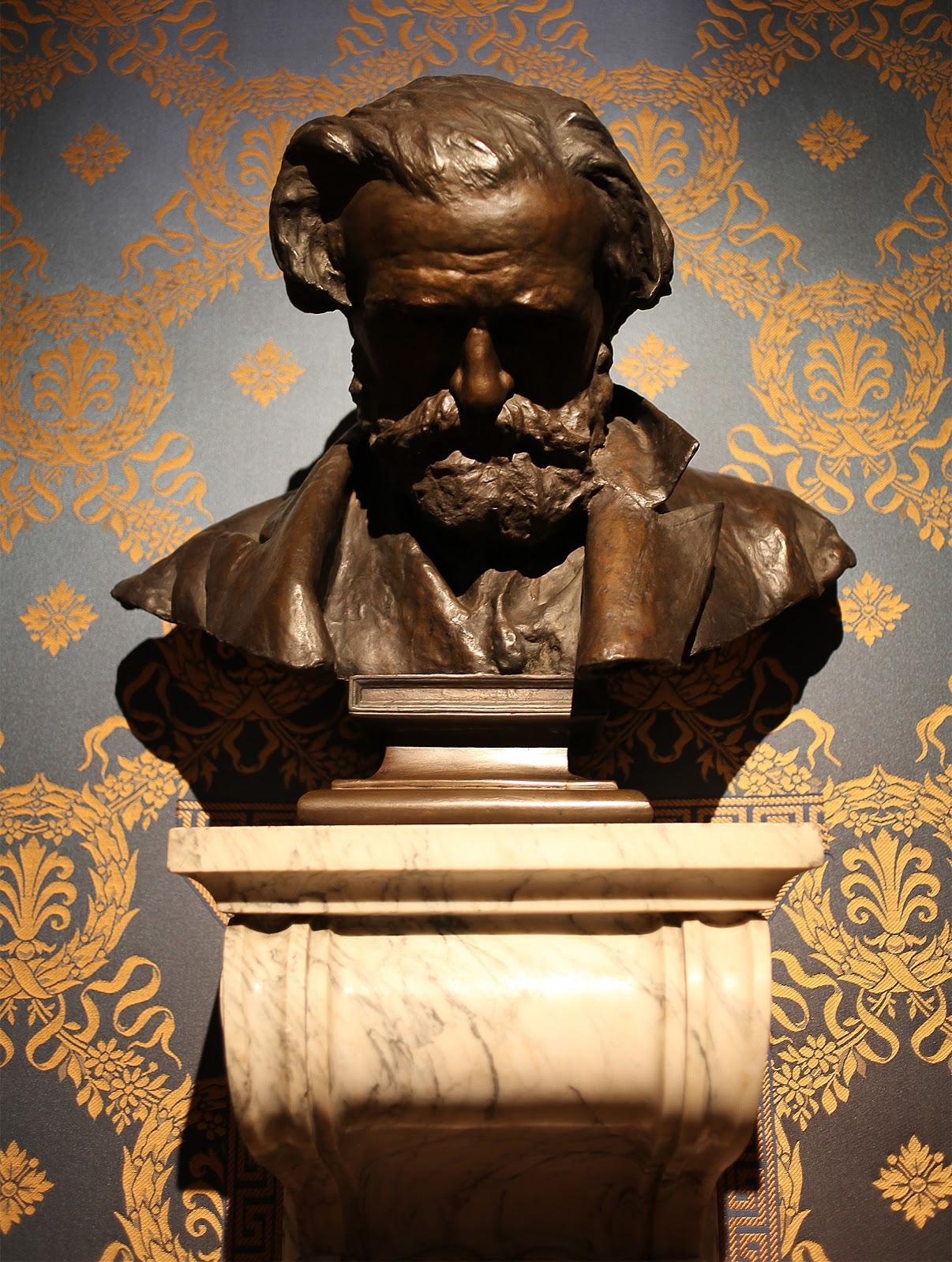 Vincenzo Gemito  usto di Giuseppe Verdi  Museo della Scala di Milano