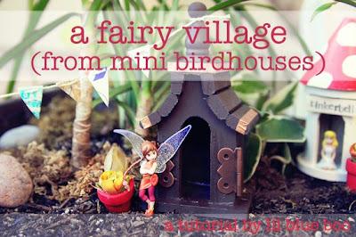 Plainly Jane Fairy Village