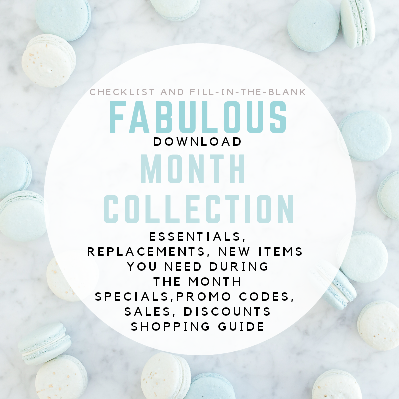 Fabulous Month Collection $1 Download