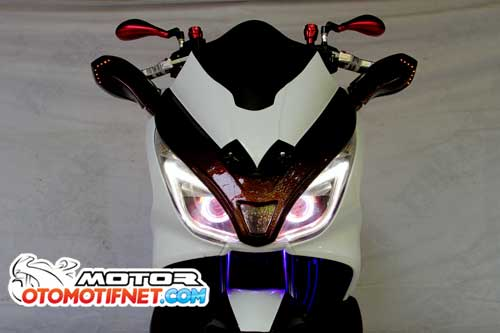 Modifikasi All New Honda PCX 150 Terkeren