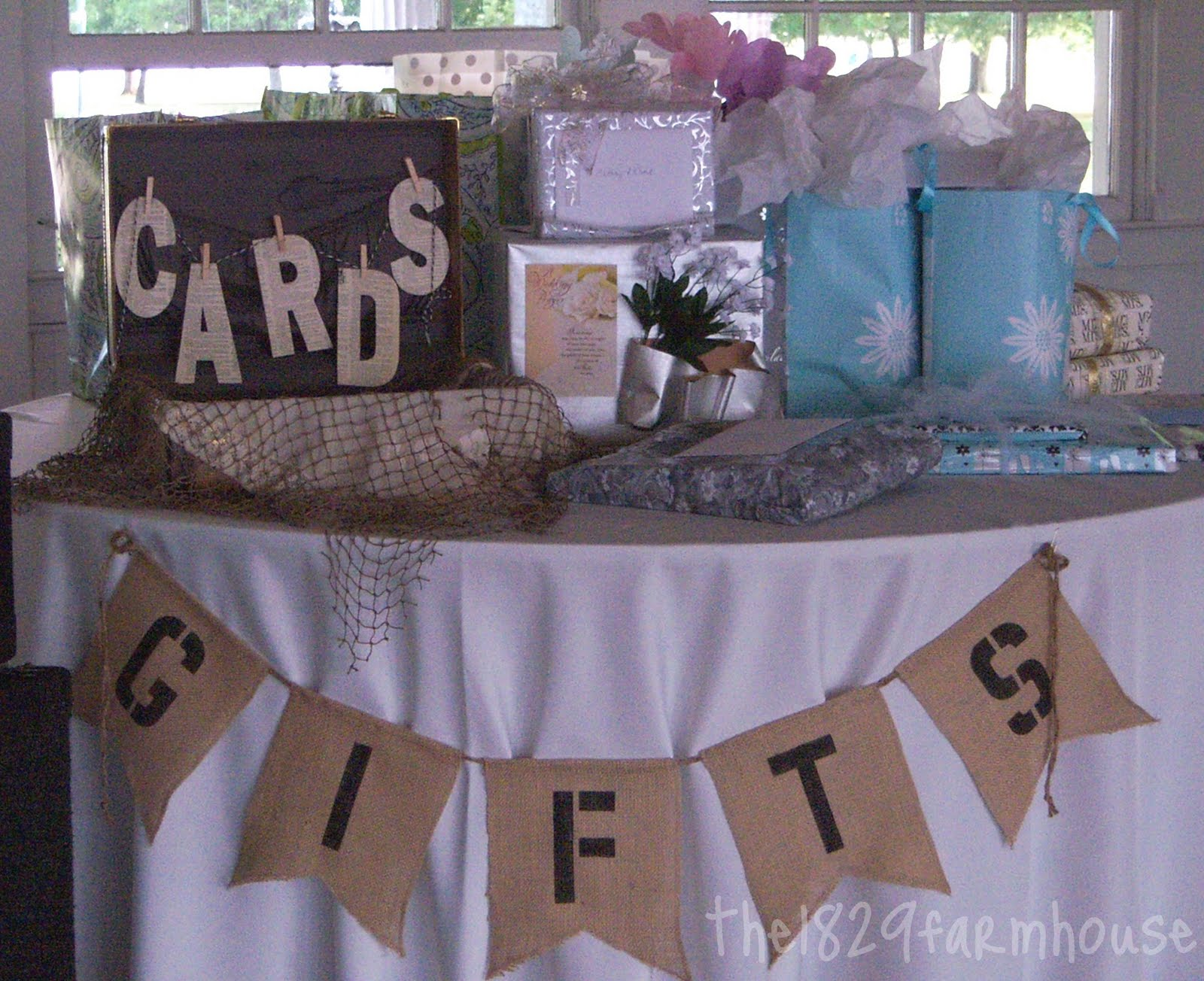 The 1829 Farmhouse: just married decor