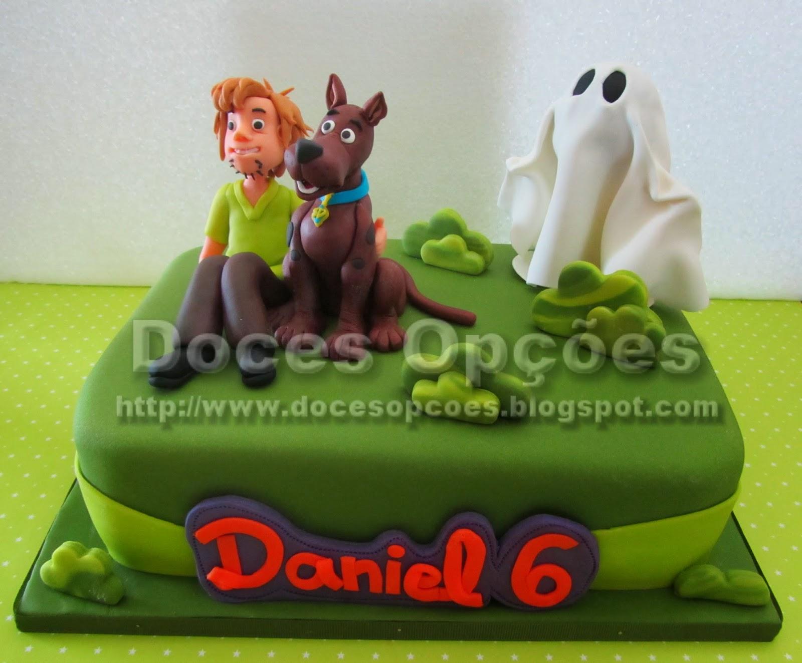Bolo Scooby-Doo