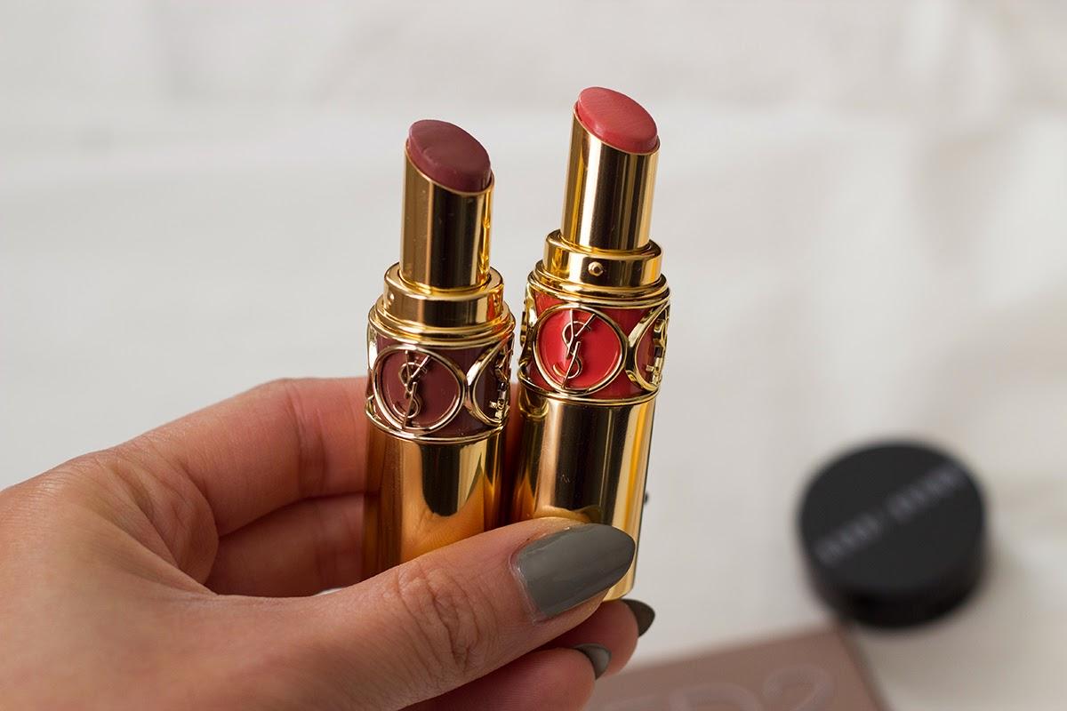 ysl rouge volupte lipsticks