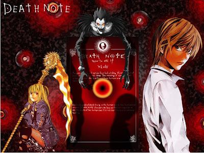 Death Note | Wallpaper | Misa | Light | Ryuk