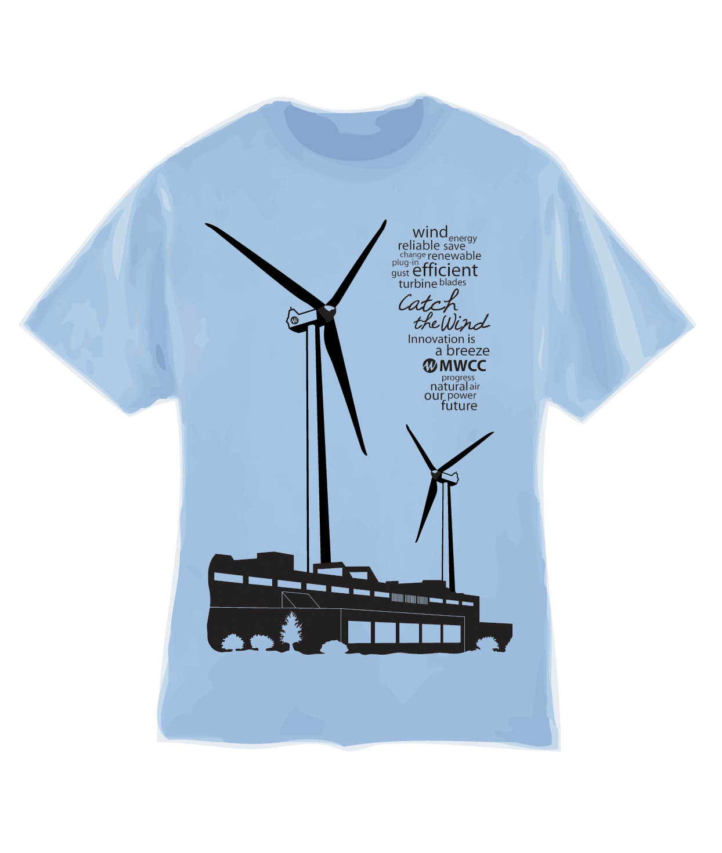 Shirt design ideas for school - Green On Street Cgd Club Creates School Pride Turbine T Shirts 1244x1471