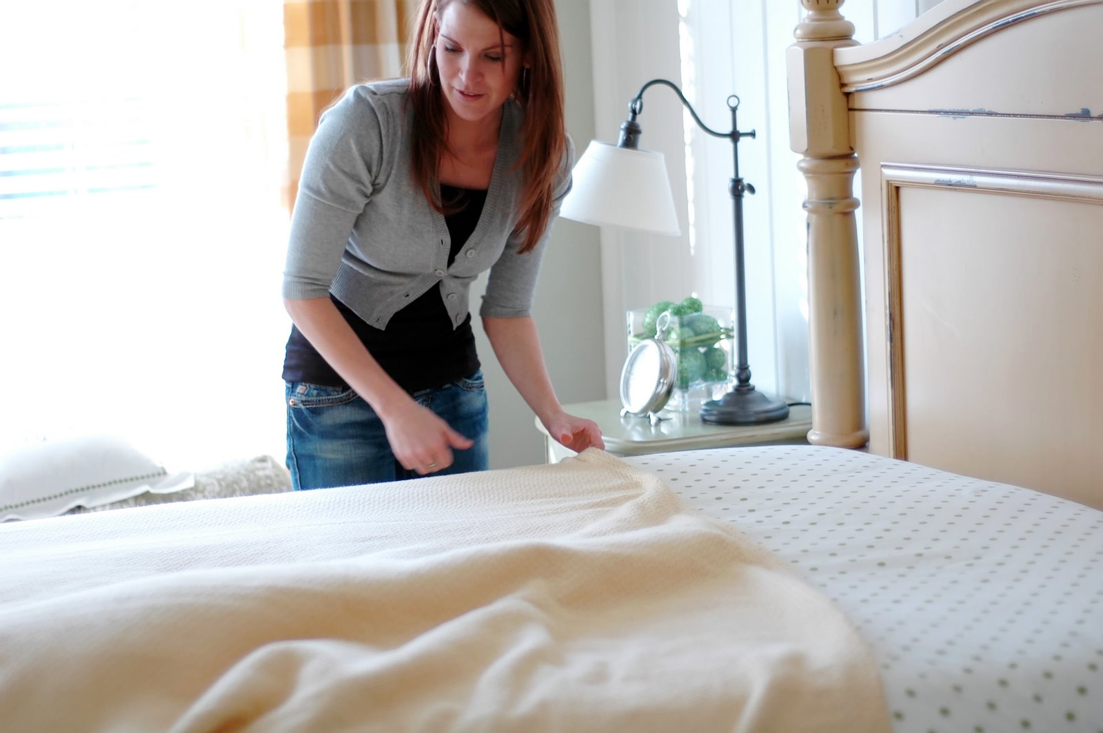 Bed Making Blanket