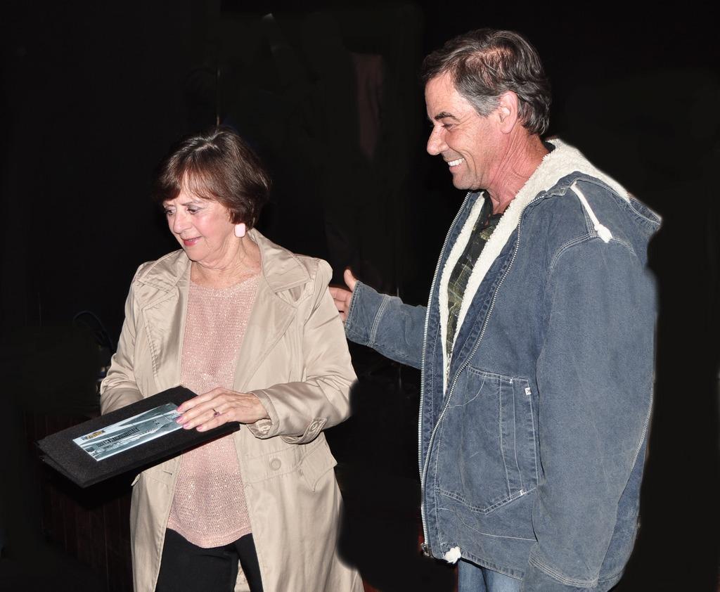 Marionor Melo Couto foi homenageada com ex-secretária de Cultura