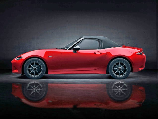 2016 Mazda MX-5 Miata Top Up