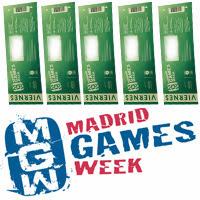 Ganadores de las 5 entradas para Madrid Games Week