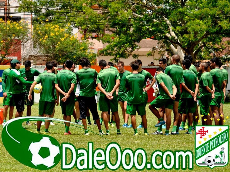 Oriente Petrolero - Plantel Temporada 2014-2015 - DaleOoo.com página del Club Oriente Petrolero