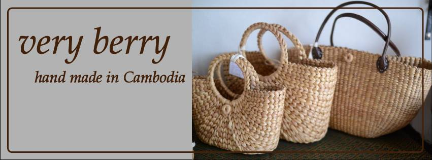 very berry -hand made in Cambodia