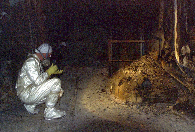 Combustible nuclear Chernobyl