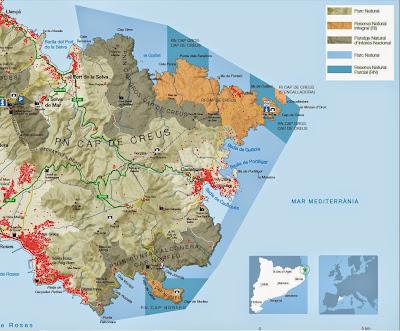 Zonas con protección especial del Cabo de Creus
