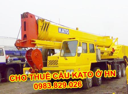thuê xe cẩu Kato ở đâu giá rẻ