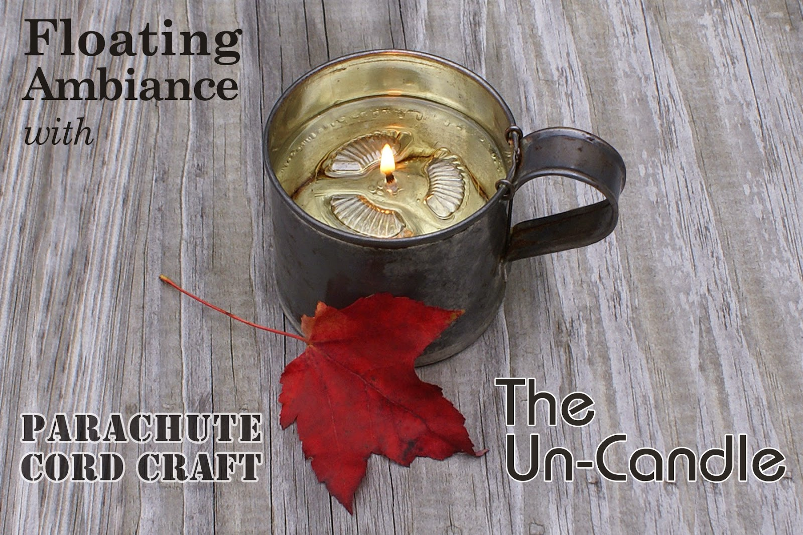 Introducing The Un-Candle - Pepperell Braiding Company