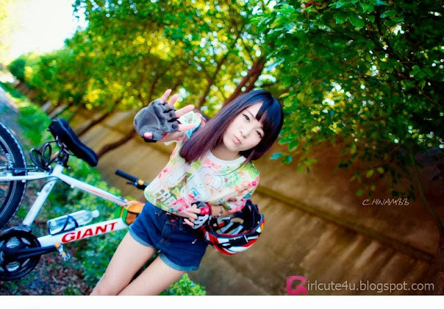 5 Bicycle Girl Diaries - very cute asian girl-girlcute4u.blogspot.com