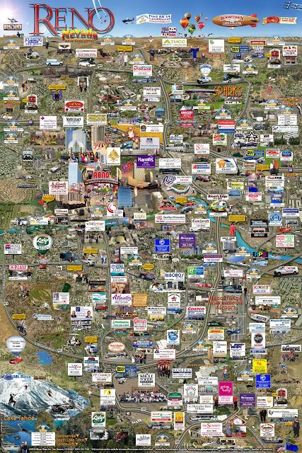 Карта Нью-Рино