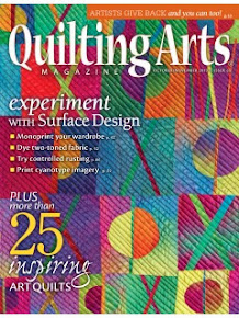 Quilting Arts Oct/Nov 3013