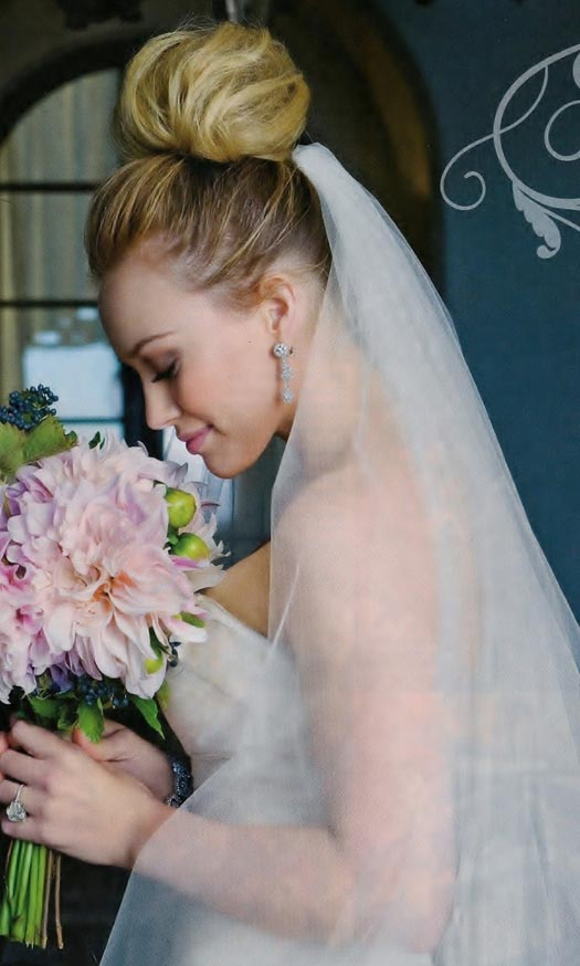 and very best Wishes on your Wedding Hilary   Hilary Duff Wedding Photos