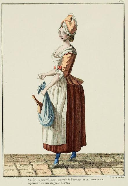 Женский Костюм 18 Века Англия