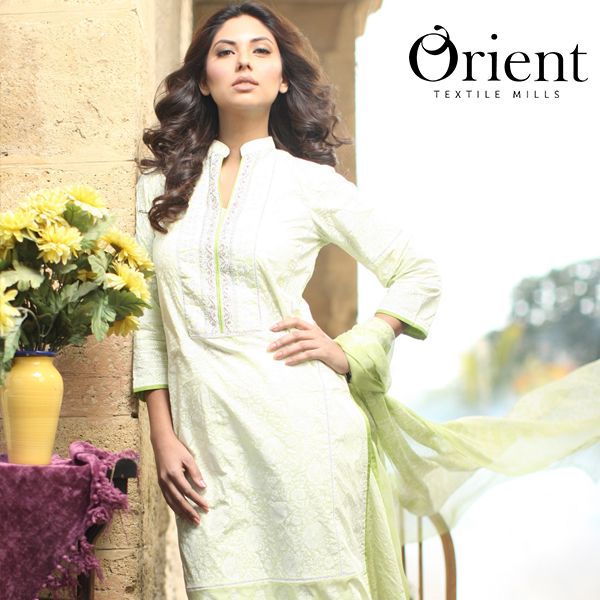 Orient Spring Summer Lawn Chiffon Dresses 2015