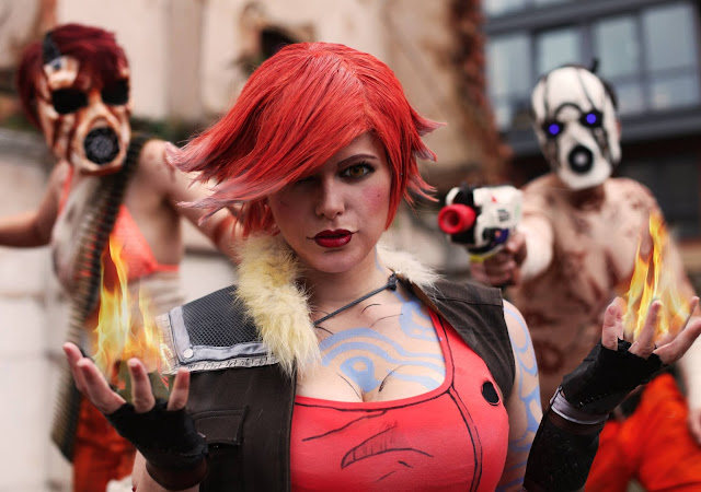 Chrix Design: Lilith from Borderlands 2 Cosplay Lilith Borderlands 2 Cosplay