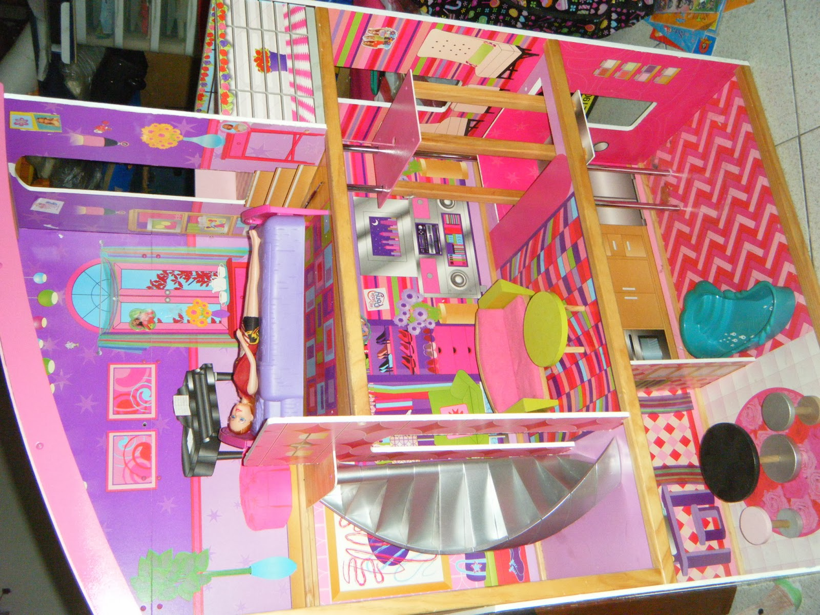 Mommyslove4baby143 Kidkraft Dollhouse Glitter Suite W Elevator
