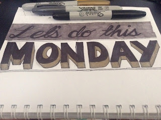 Monday-Hand-written-letterings-typography