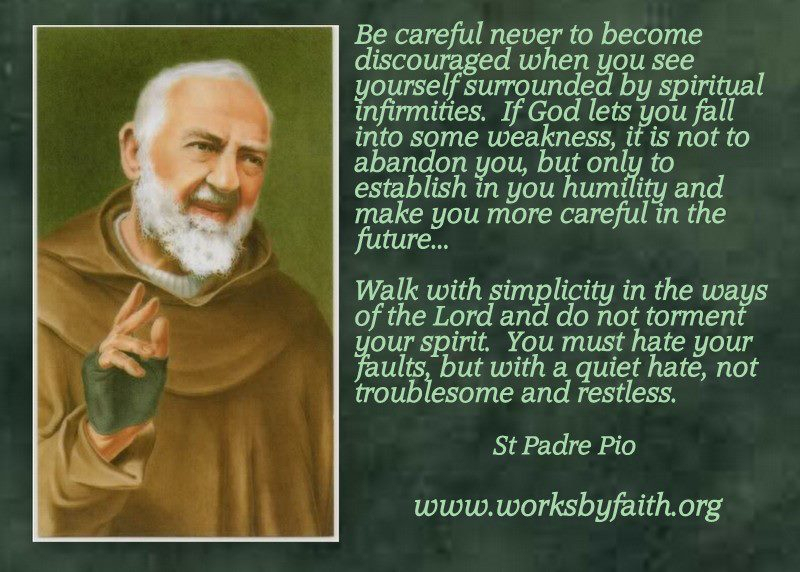 Padre Pio Quotes | Little Plant Of St Francis St Padre Pio Quote