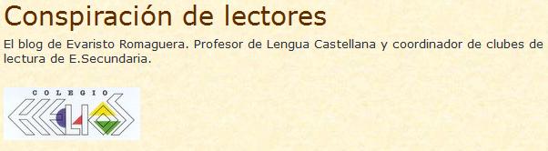 CONSPIRACIÓN DE LECTORES