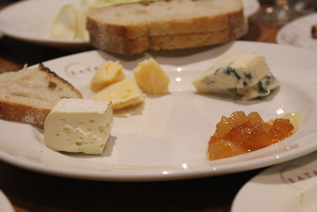 Charcuterie and cheese at Eataly, NYC