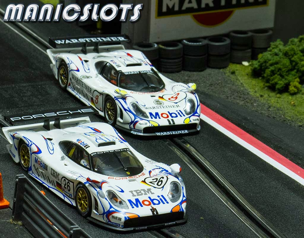 manicslots 39 slot cars and scenery review porsche 911 gt1 98 le. Black Bedroom Furniture Sets. Home Design Ideas
