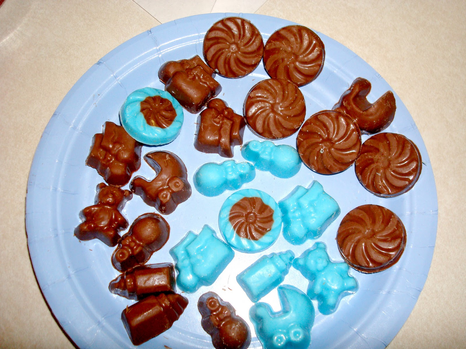 My Creative Way: Brown and Blue Baby Shower Ideas. Modern Baby Boy