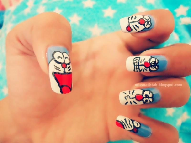 Ccs Nails My Doraemon Nail Art